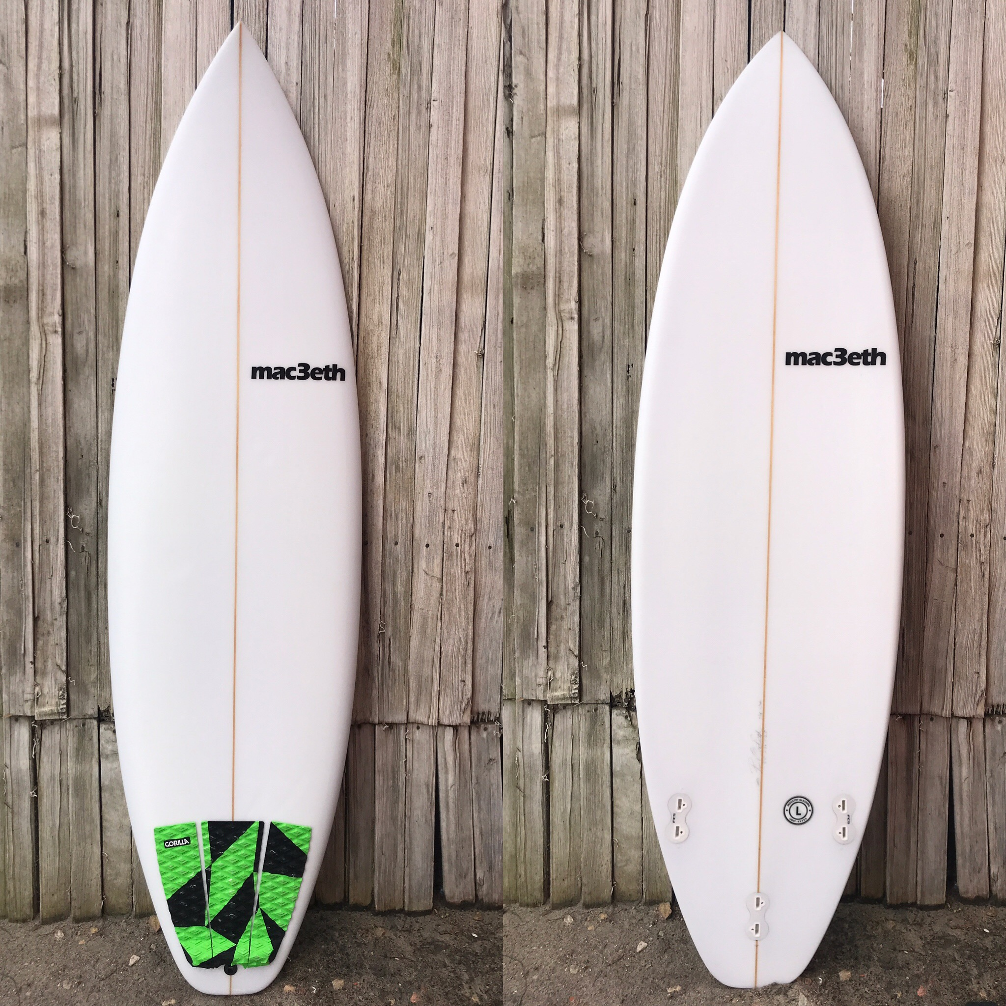 6'1 Macbeth shortboard