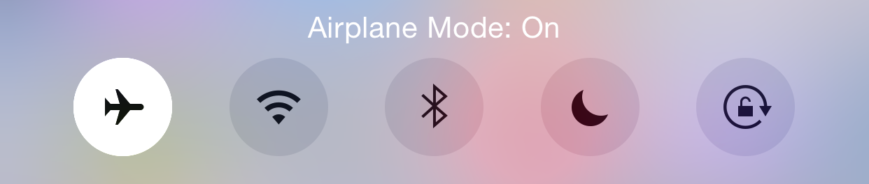 Turn Airplane Mode On