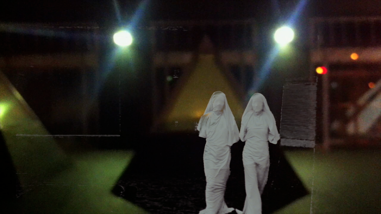 Video Still from Static Background Radiation |  View Video