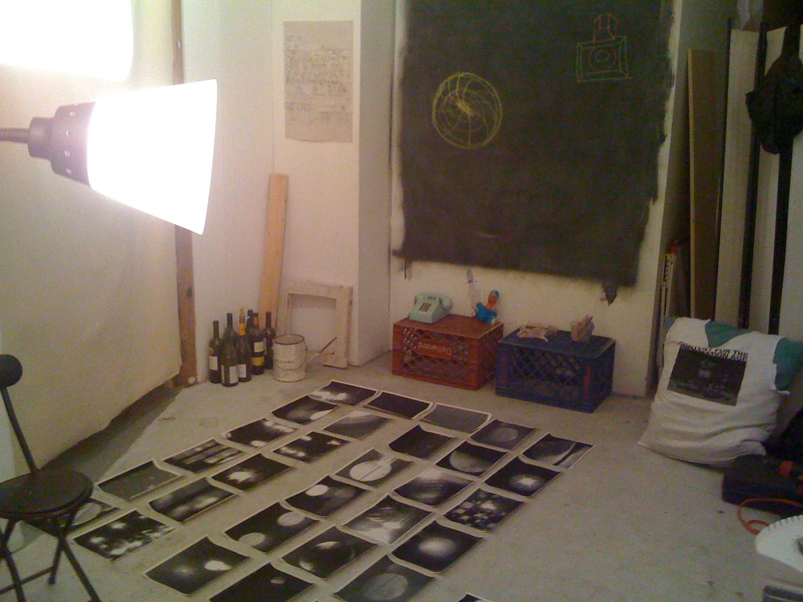 Studio times, Greenpoint, Brooklyn, March 13, 2010