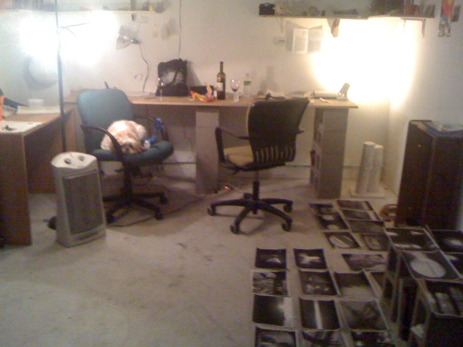 Studio times, Greenpoint, Brooklyn, March 6, 2010