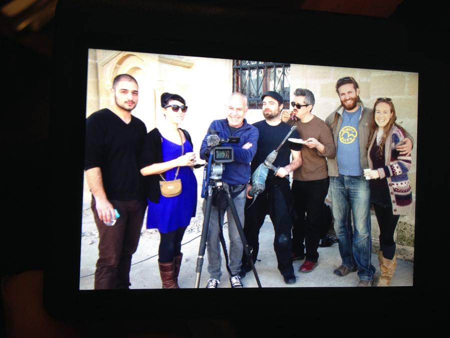 The Crew, Cyprus, January, 2014