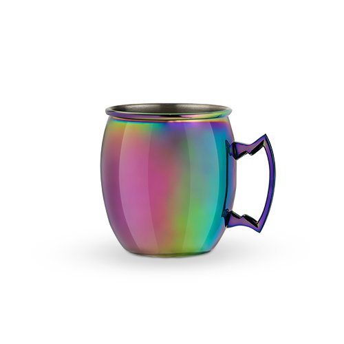 This  Moscow Mule mug  is a fun twist on the classic copper mug touted by so many fans of Tito's Handmade.