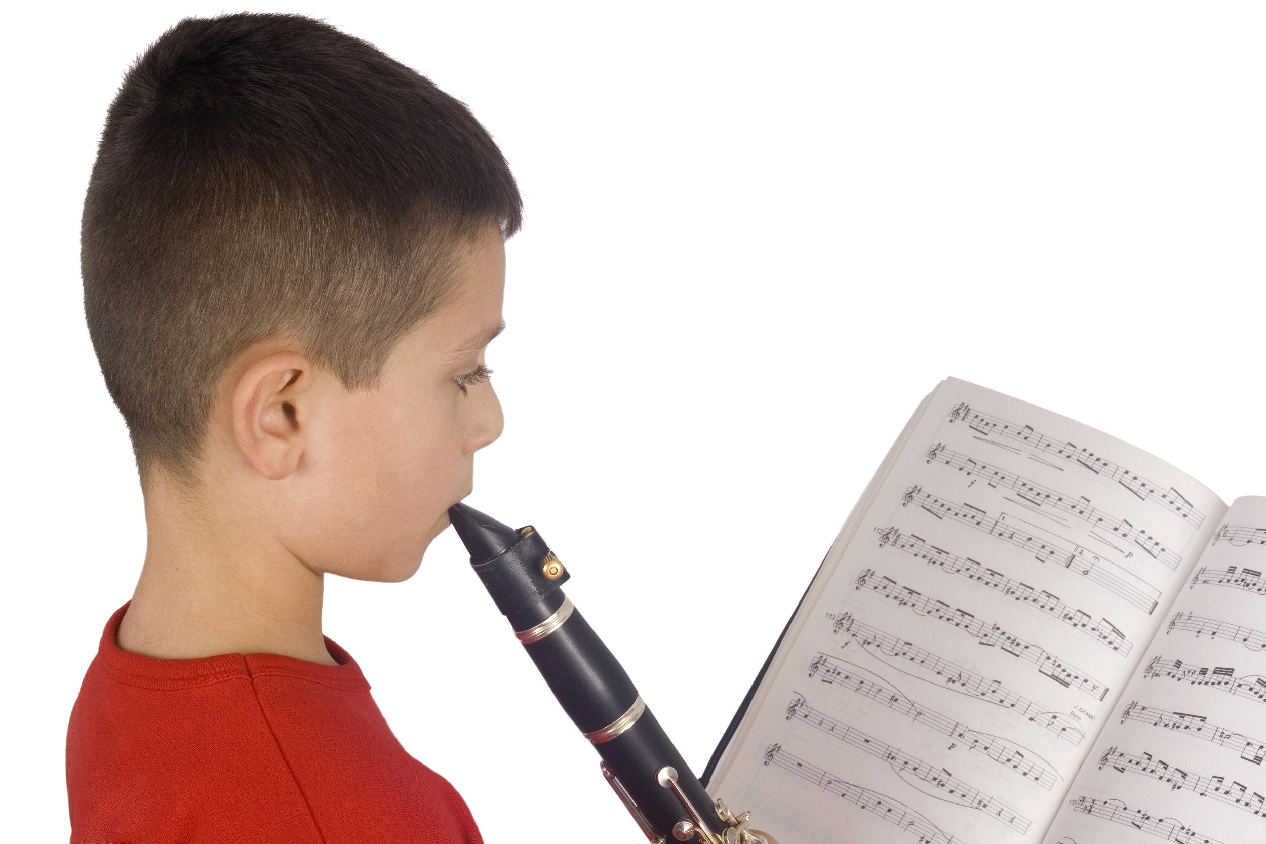 Boy Playing Clarinet- Side.jpg
