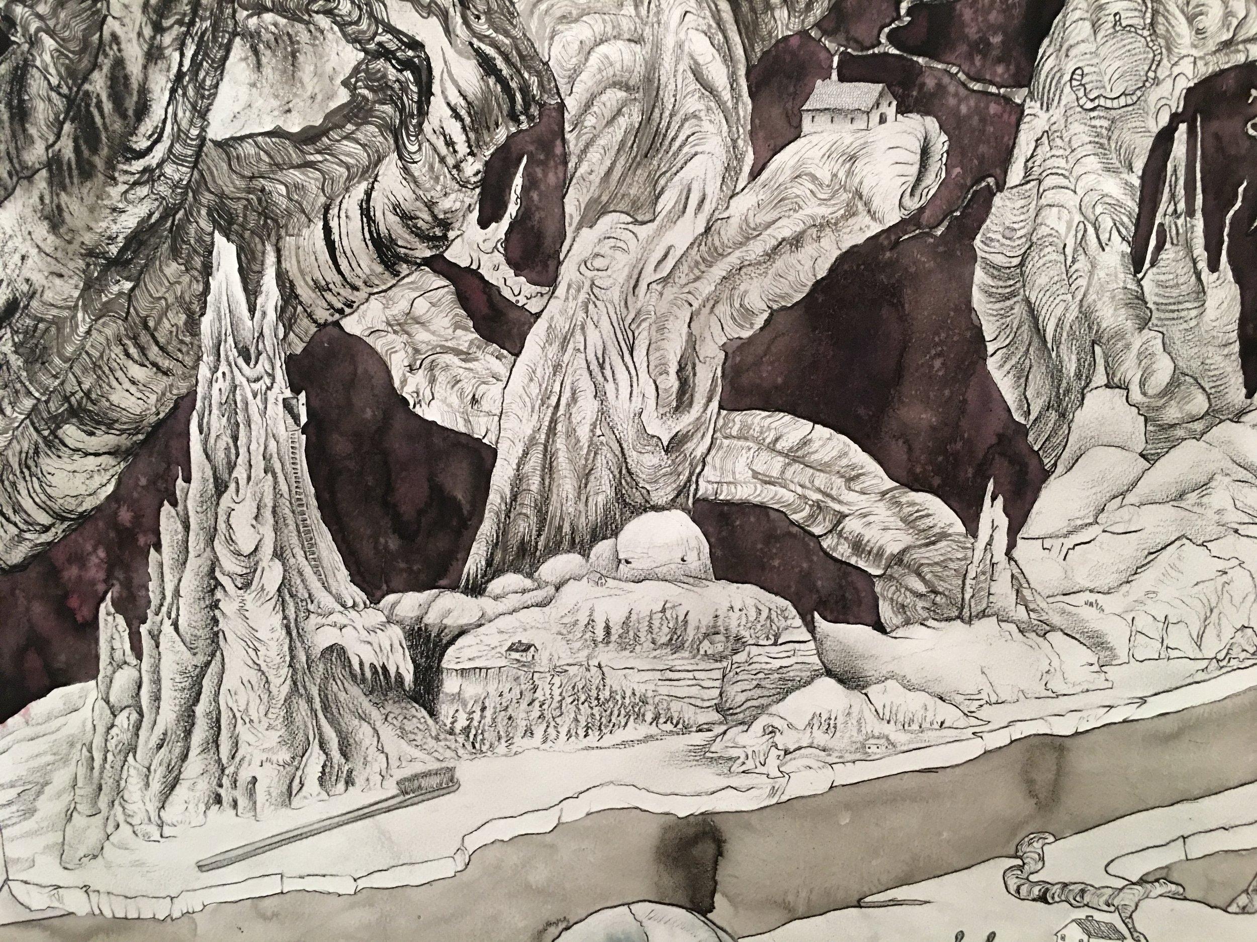 Detail by Paul Brunet.