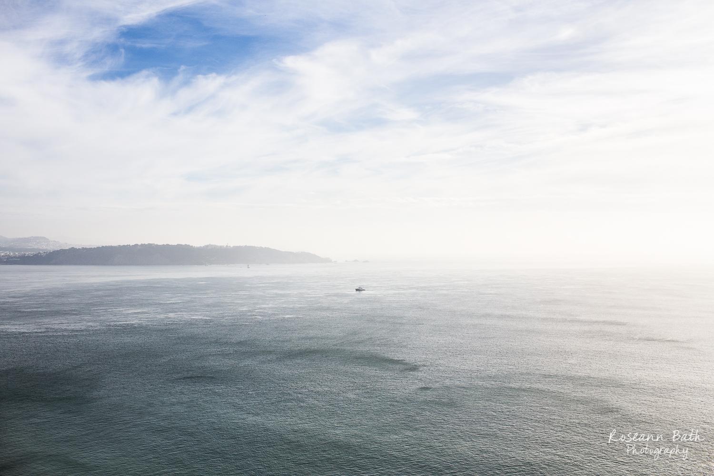 tug boat in Golden Gate
