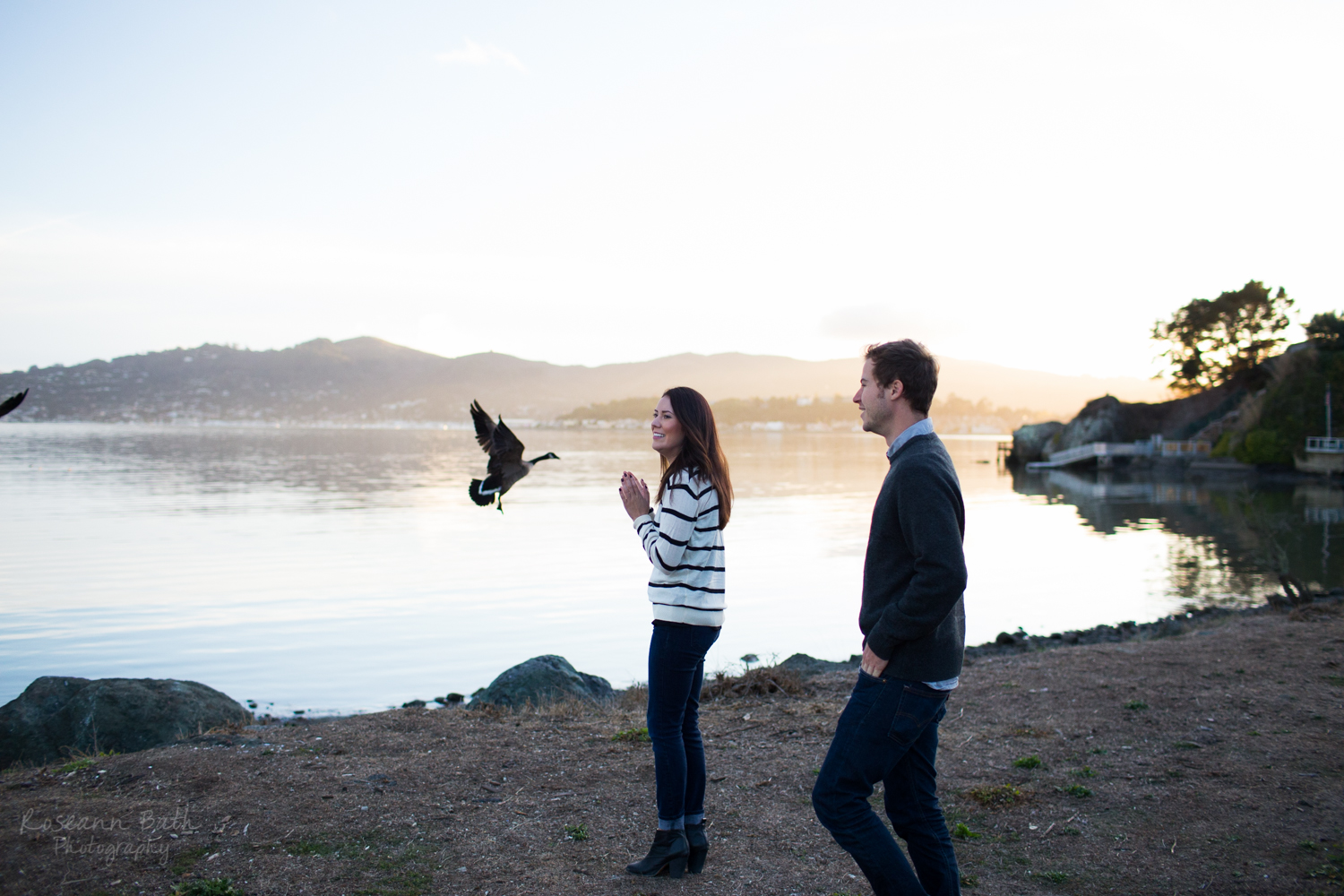 Couples Session | Tiburon | Roseann Bath Photography