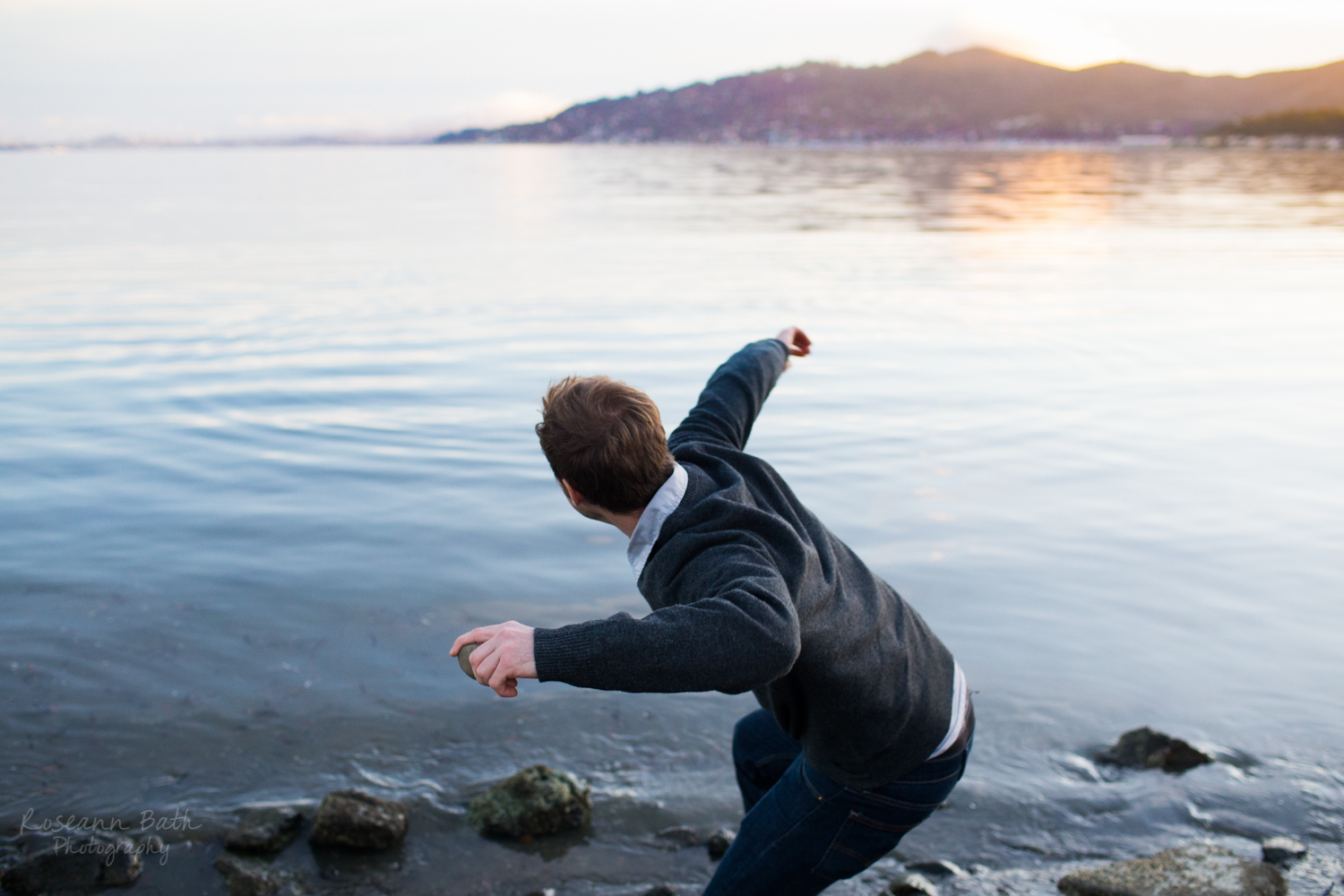 Skipping Stones | Tiburon | Roseann Bath Photography