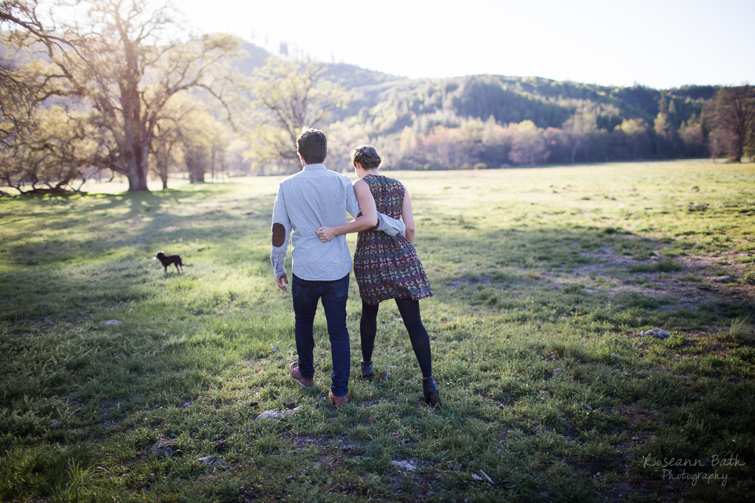 bay area couple's engagement session