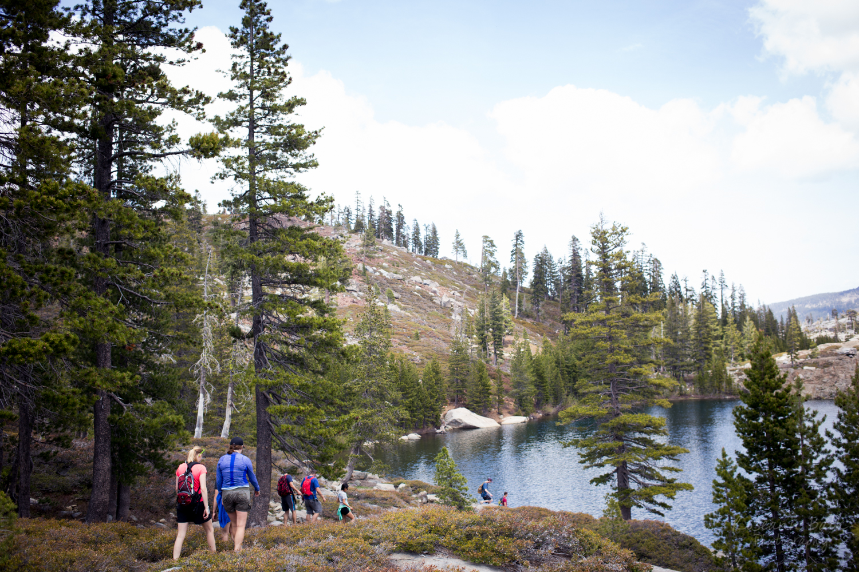 hike to Island lake
