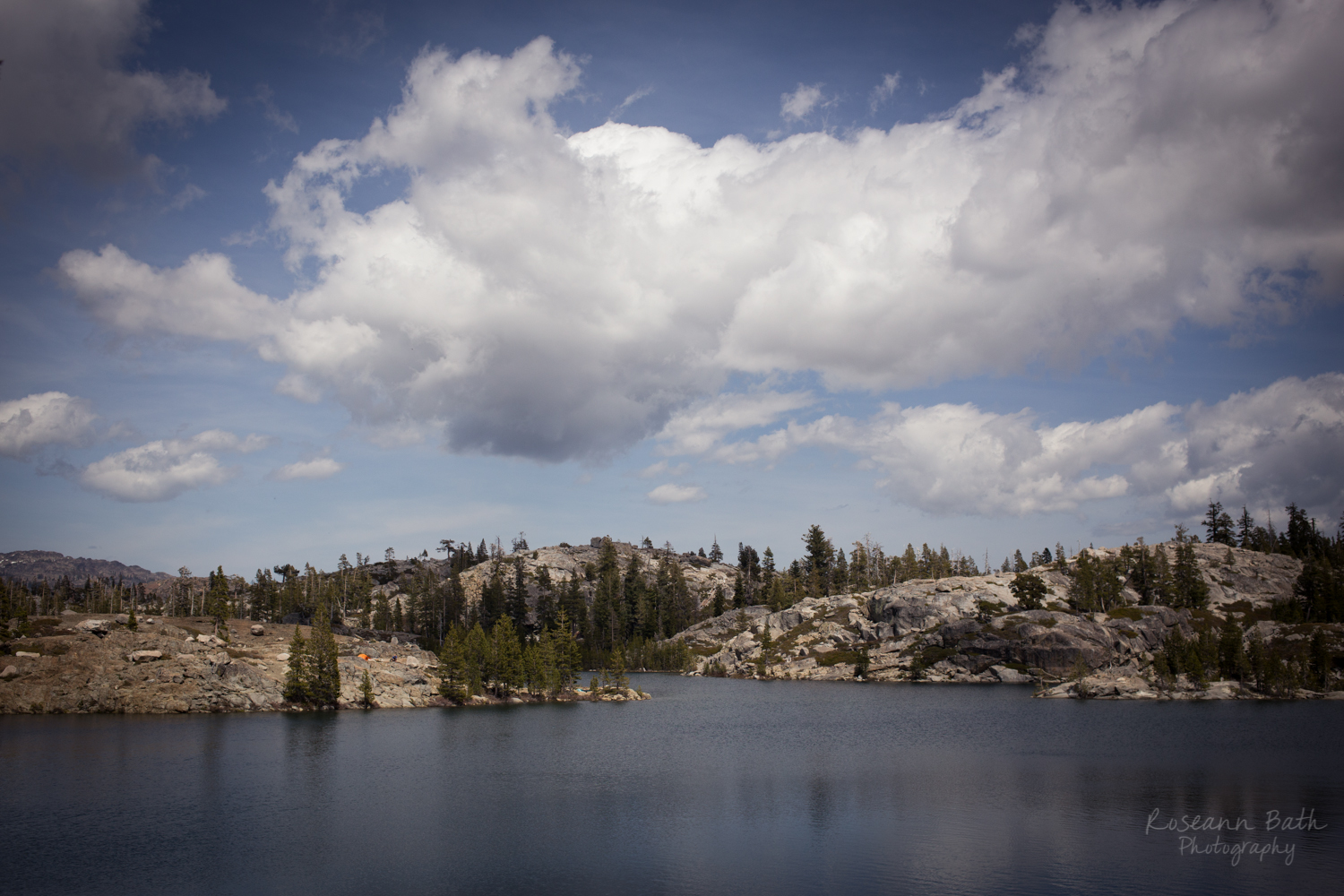 Island Lake, Tahoe National Forest