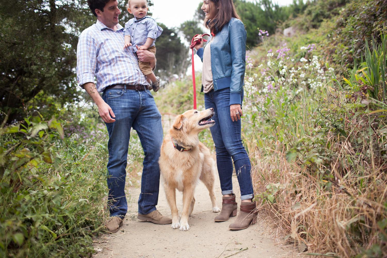 family portrait lands end trail