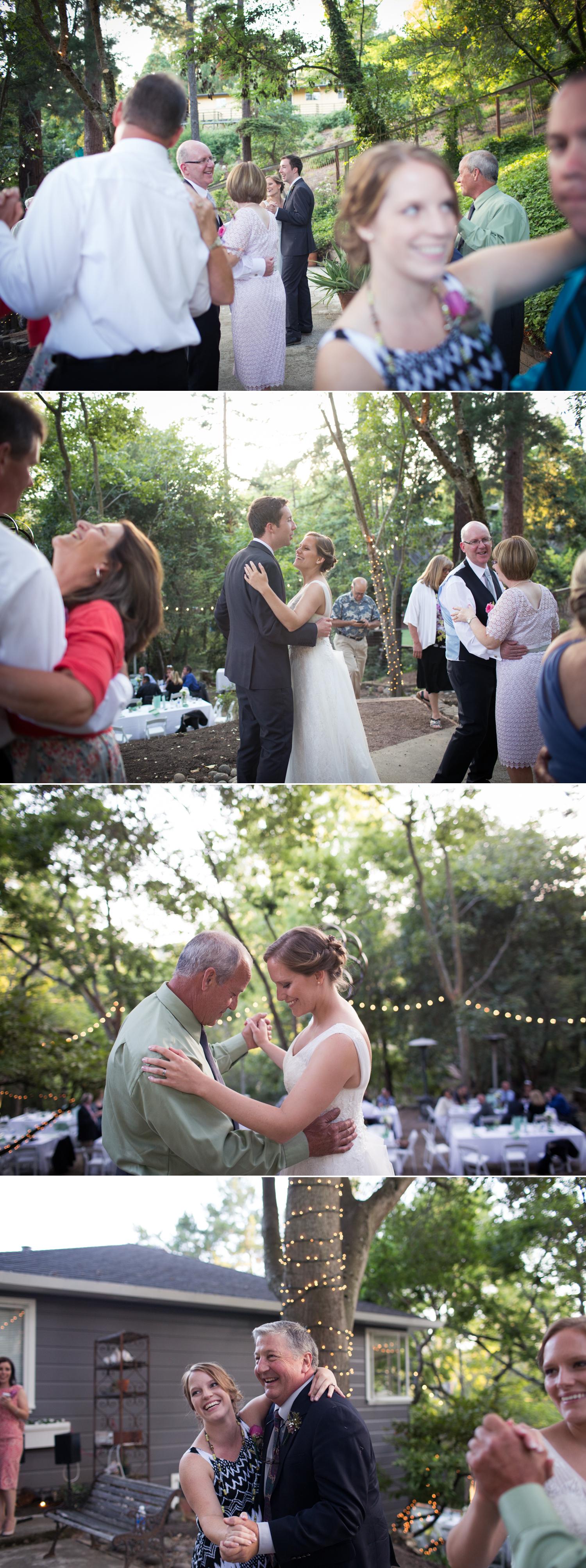 dancing orinda wedding
