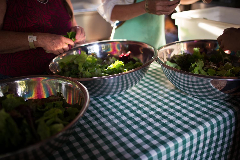 salad reflections