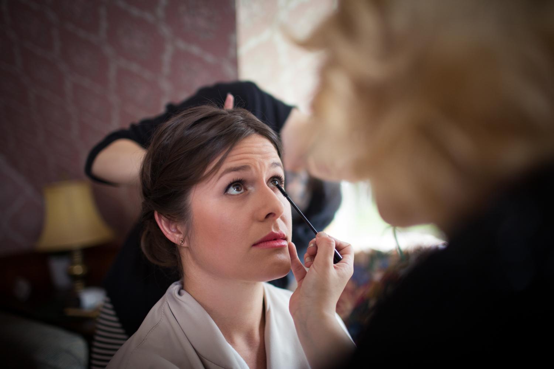 final touches bridal makeup