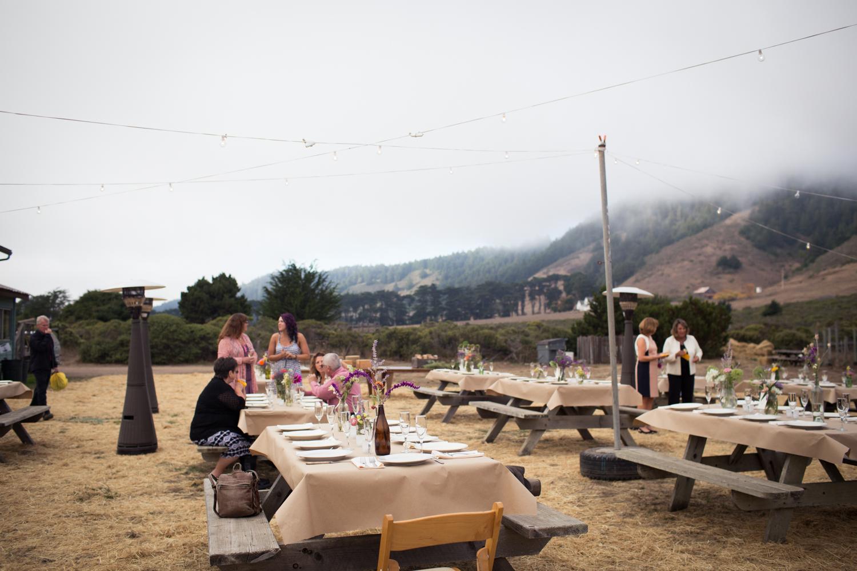 elk california wedding greenwood community center