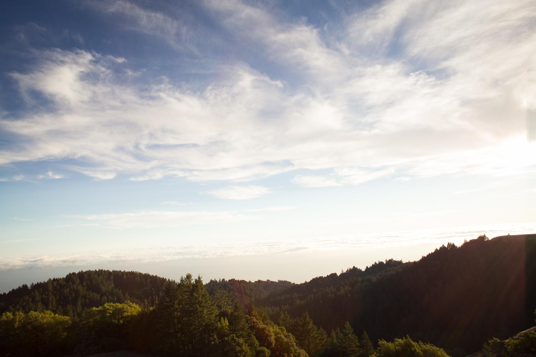 pretty clouds mt tam