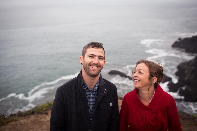 california coast engagement