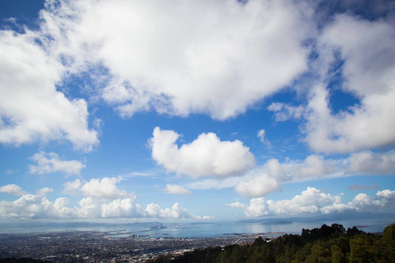 Bay Area view from Berkeley Hills