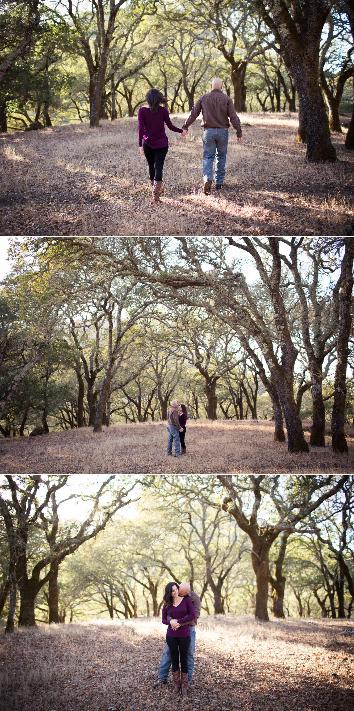 sonoma county engagement session jack london state park