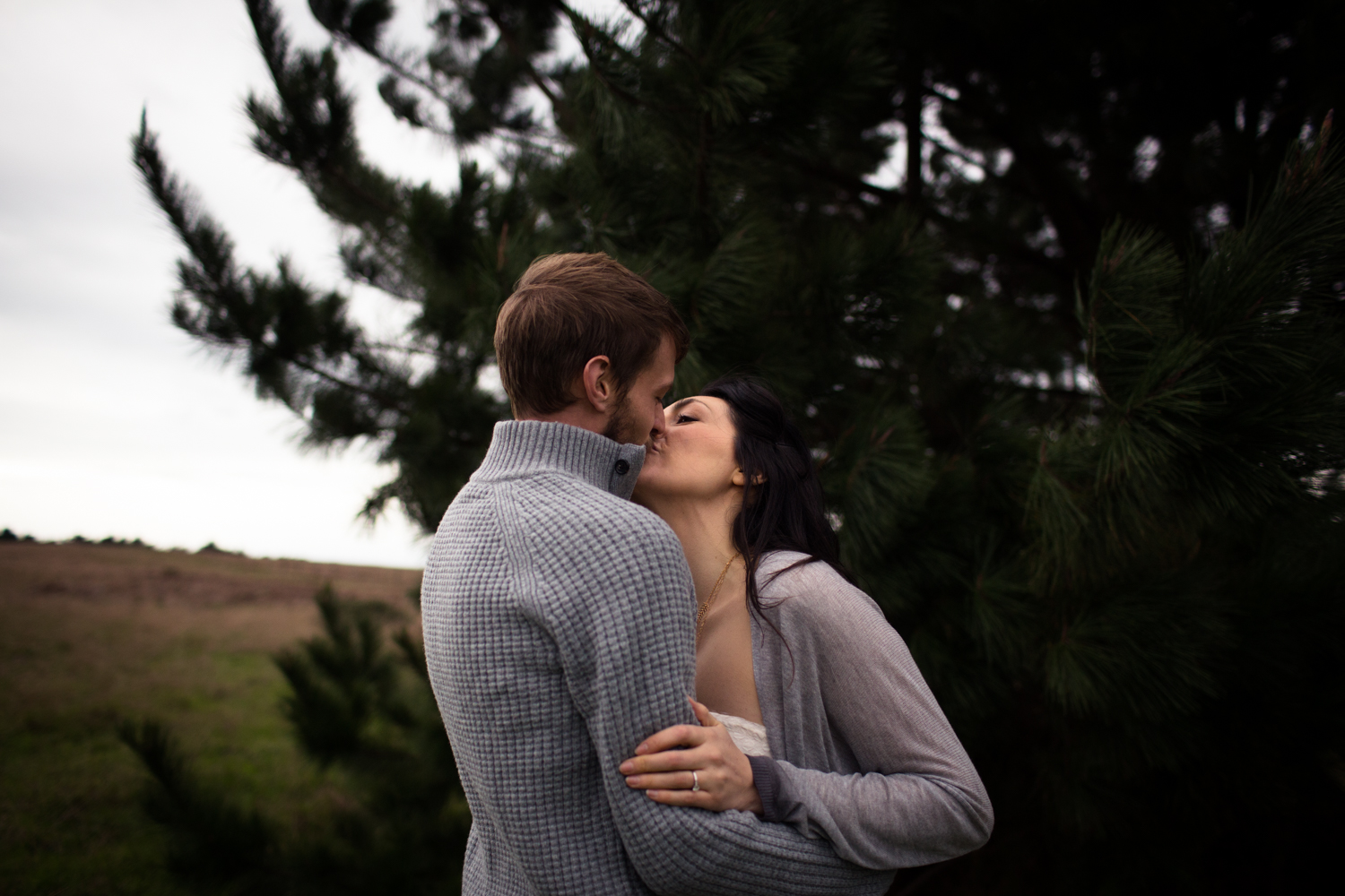 Spring Ranch Engagement Photography Mendocino Coast