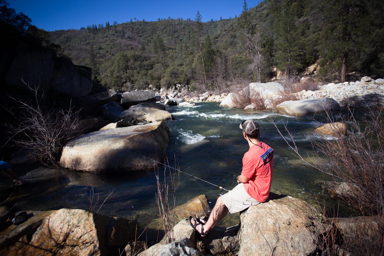 fishing on the yuba