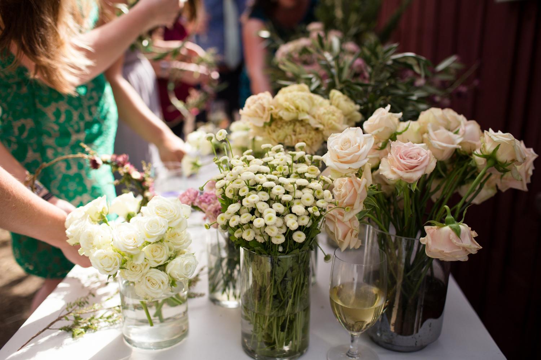 flower crown station mendocino county wedding