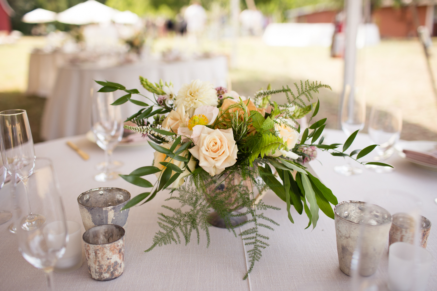 lily and mint flower floral design mendocino county wedding photography