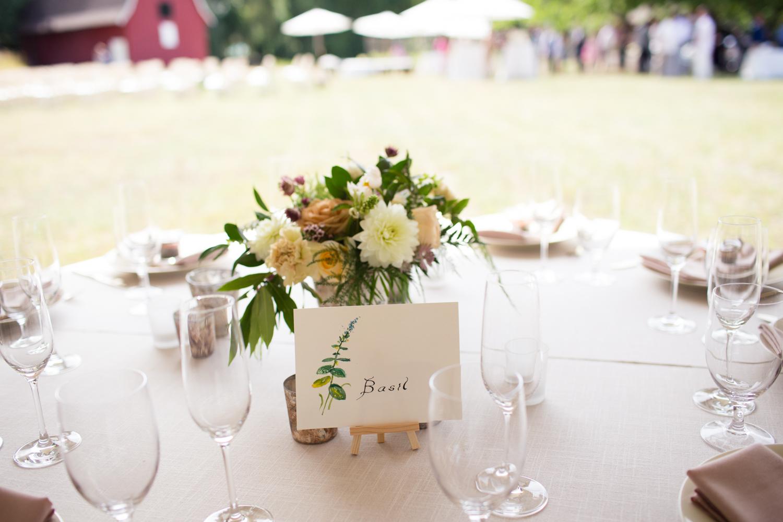 mendocino county barn wedding reception