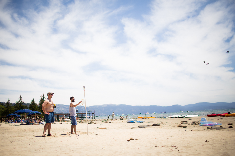 king's beach tahoe sky