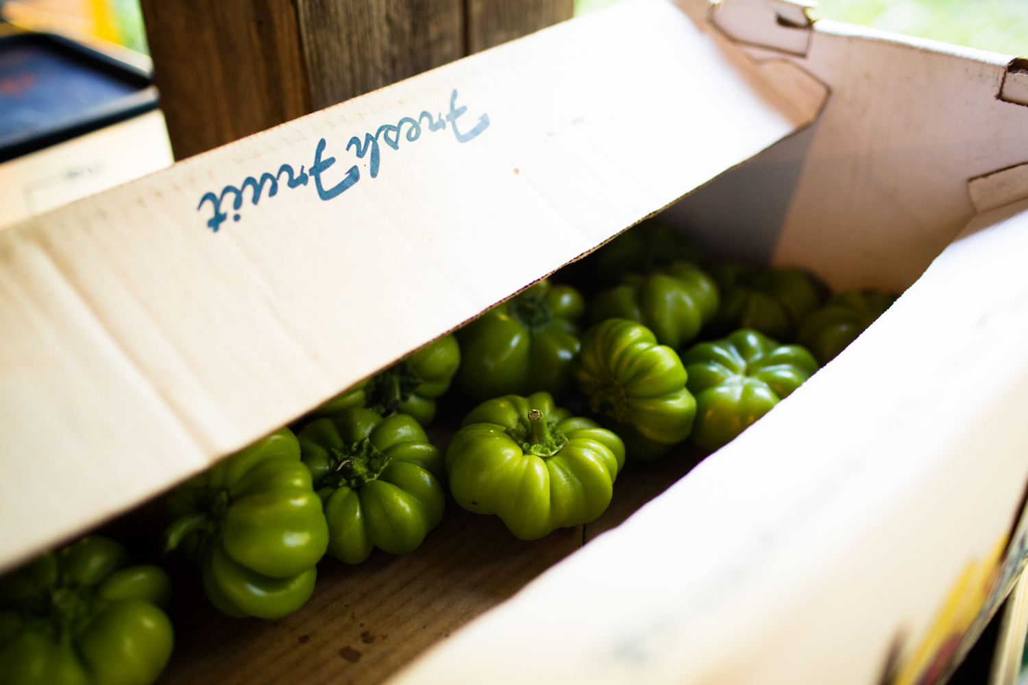 peppers in a box