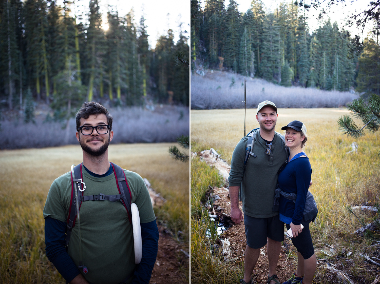 hiking buddies