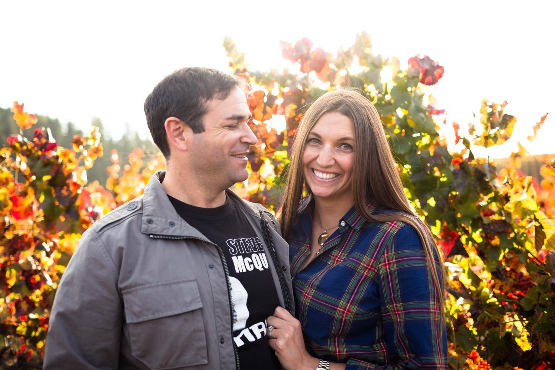 wine country wedding photographer northern california