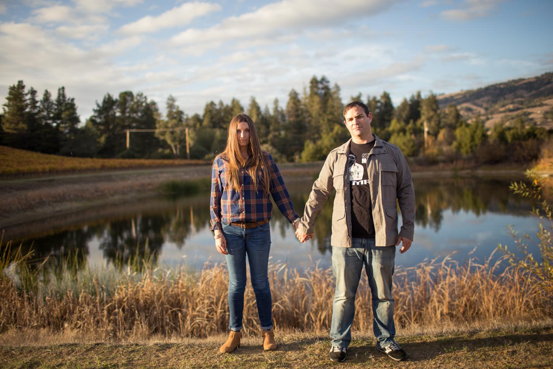 mendocino county couples photographer engagement wedding