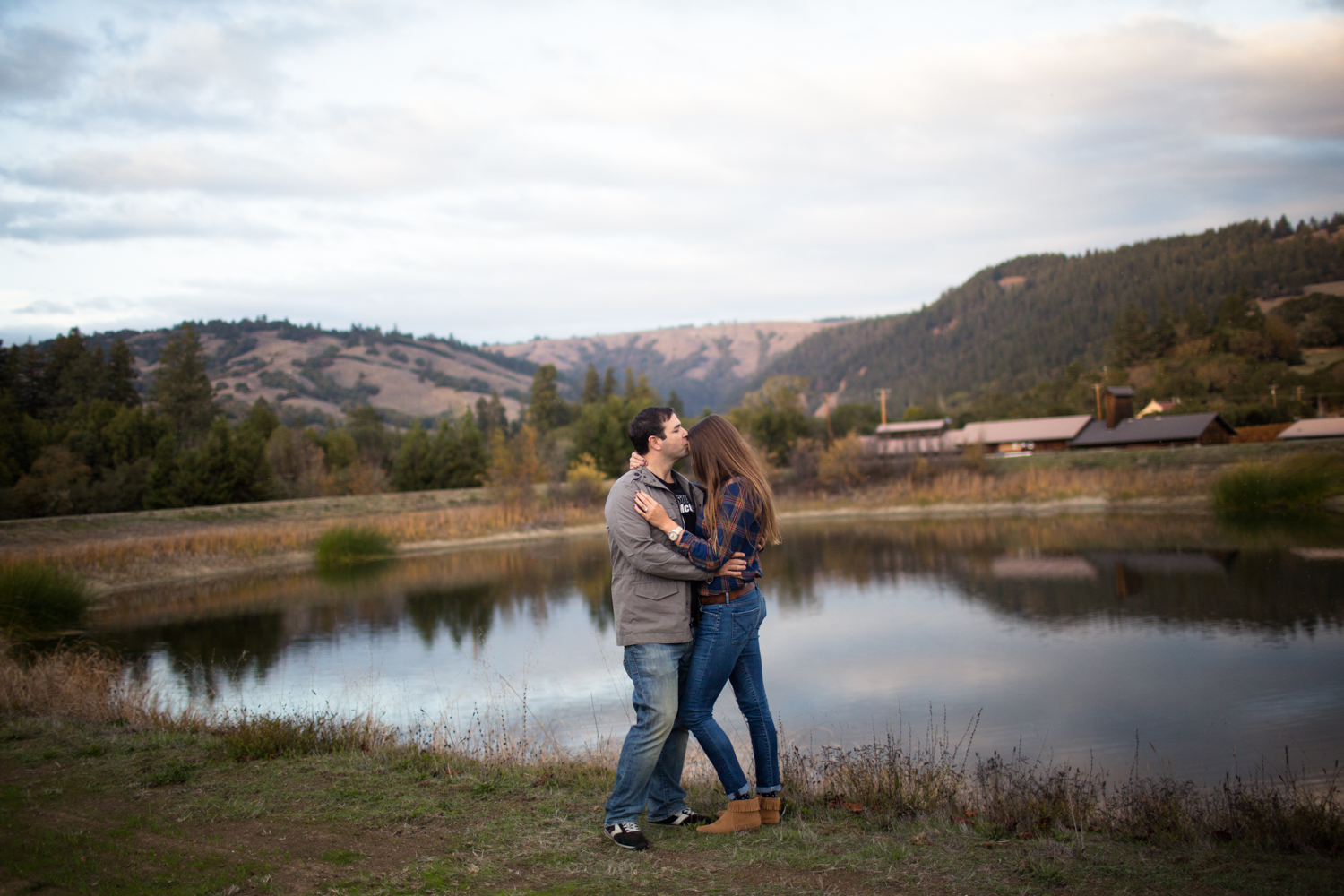 boonville engagement photographer couples portrait wedding anderson valley