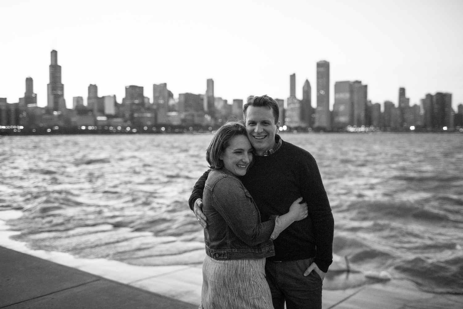 chicago engagement photographer natural light nevada county