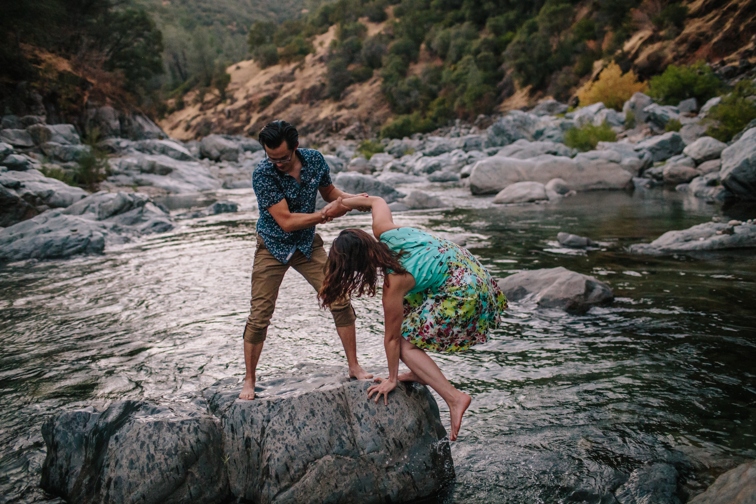 nevada city grass valley engagement photography