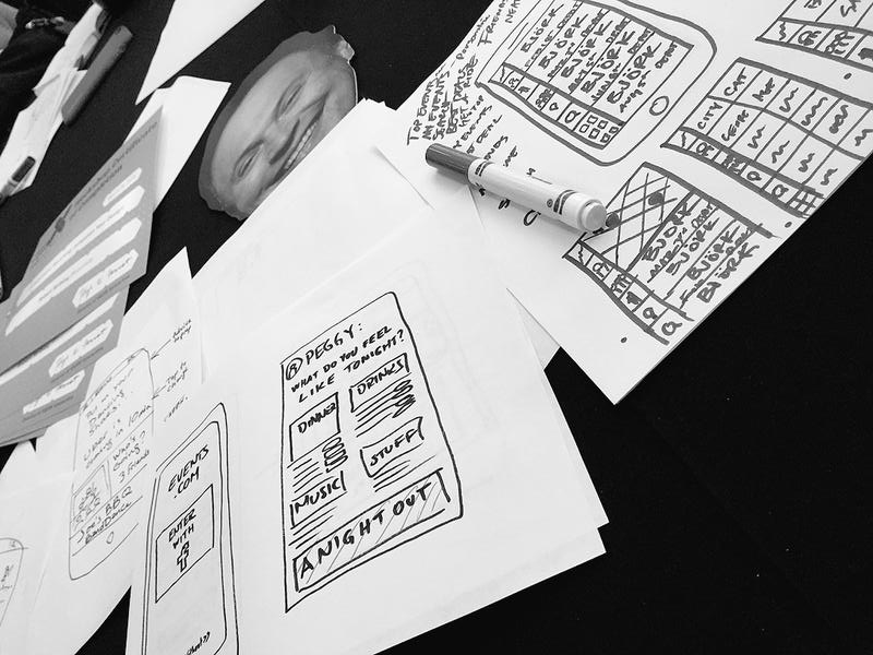Sketches by attendee @ jaimeweb