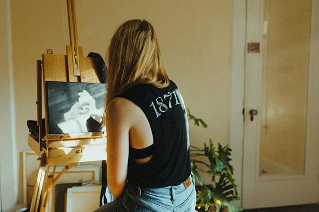 We just wanted to give you guys a heads up that we will be set up @pepperplacemarket tomorrow! We also have tank tops on our website and they are stocked so grab one if you've been wanting one 🖤 photo by @peyhol