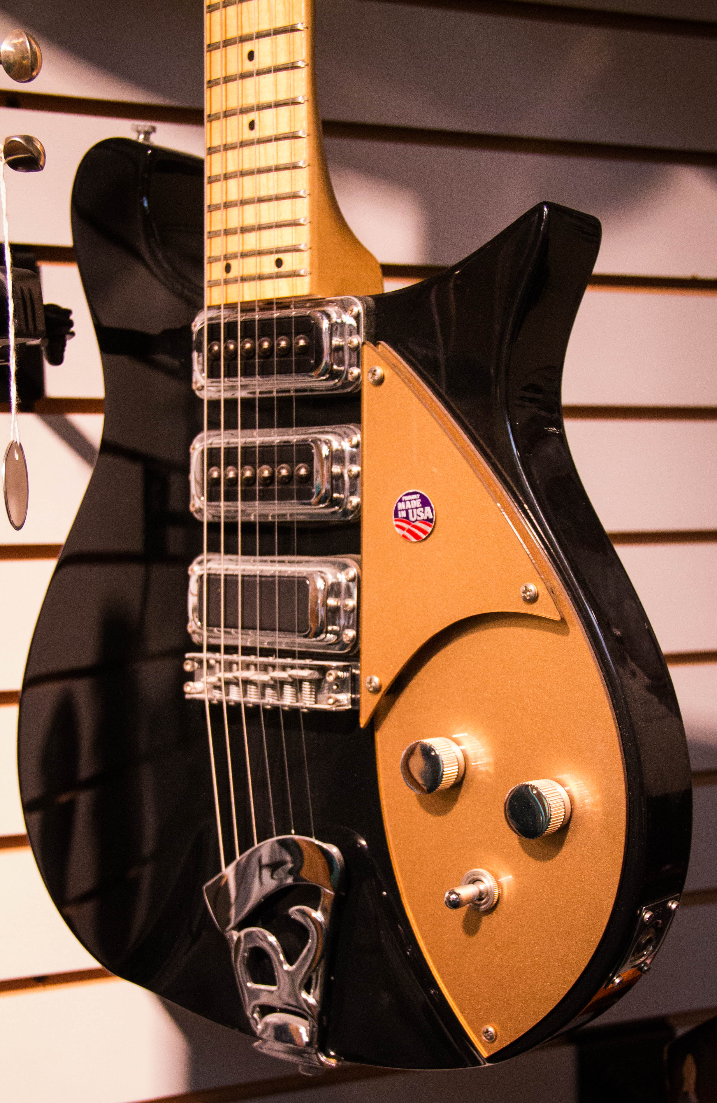 One of the two Jackson Browne Limited Edition prototypes. This model never went past the prototype stage and was subsequently shelved.