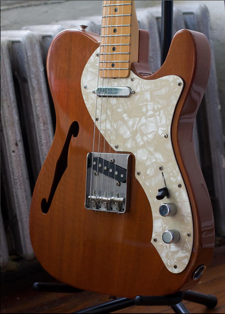 1985 Fender Telecaster Thinline '69 Reissue