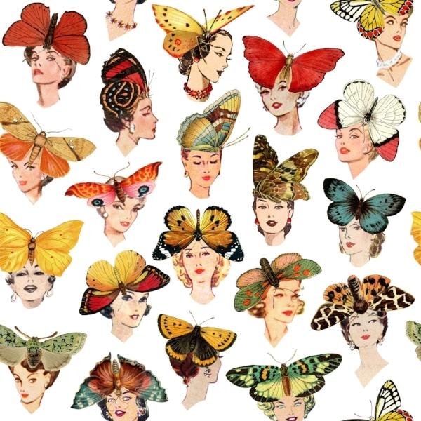 Butterfly Girls Pattern