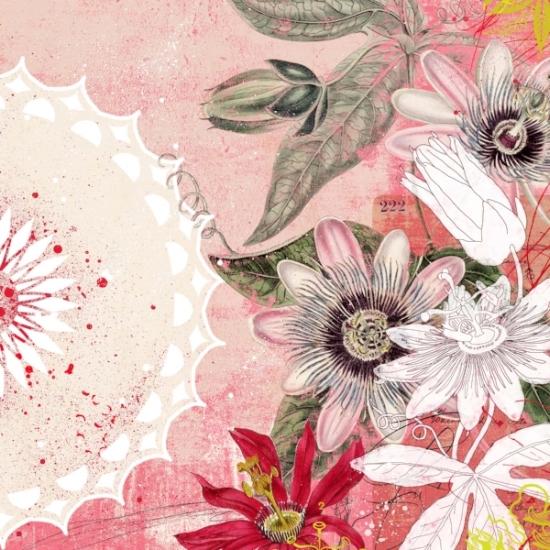 Passionflower Mandala