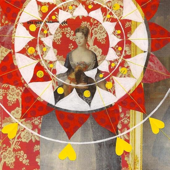 Queen of Hearts Mandala