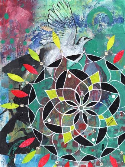 White Bird Mandala