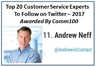 Top 20 National Customer Service Influencer 2017 via Comm100.jpg