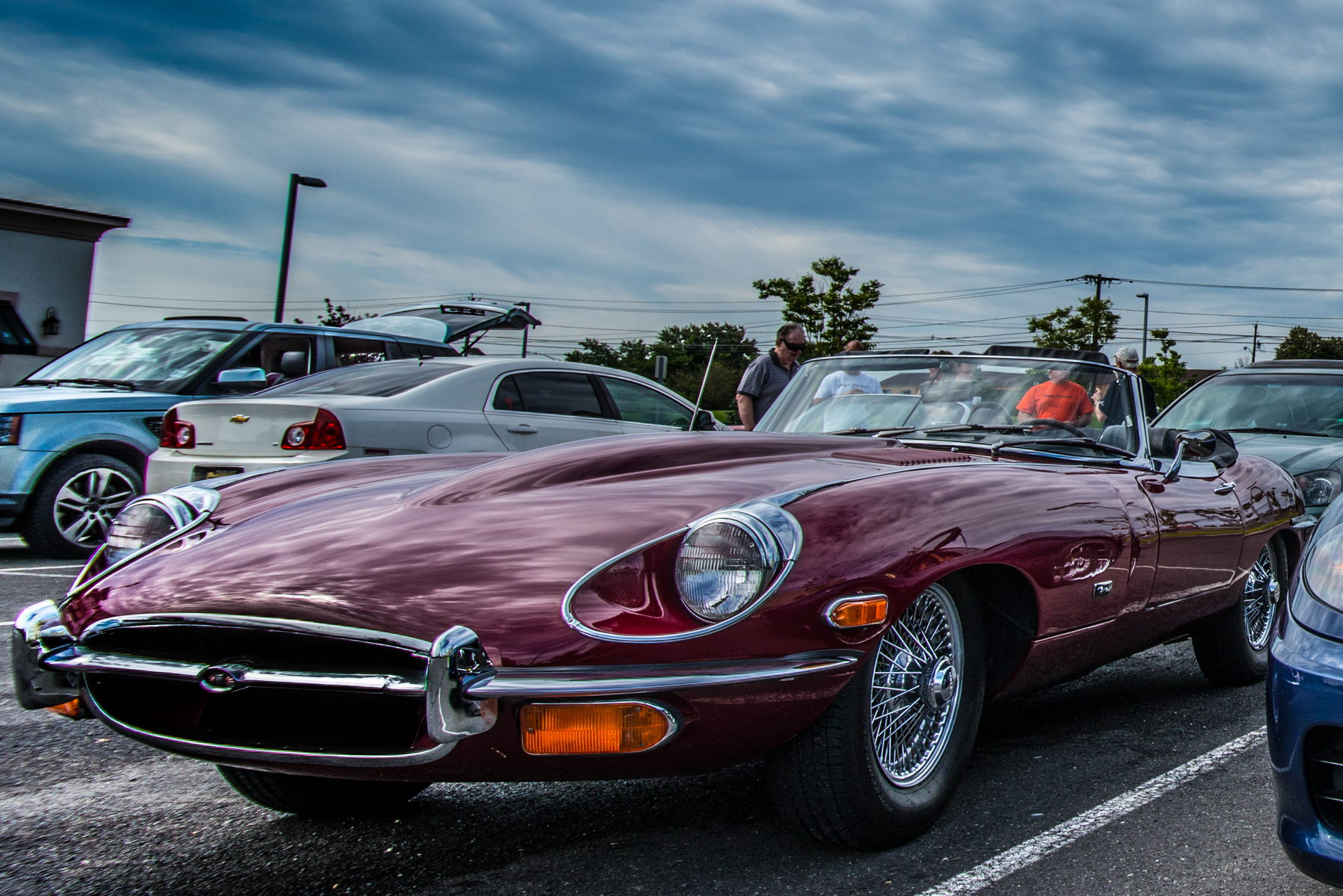 Jaguar E Type Cars and Coffee NJ High oCtane.jpg
