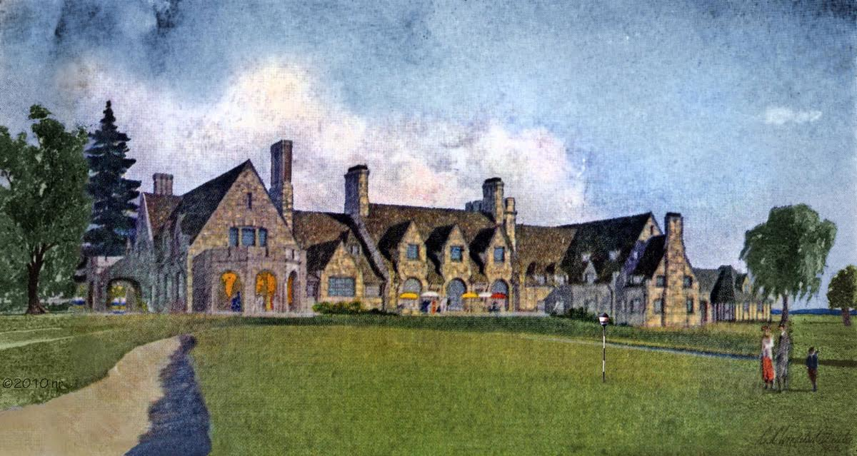 The original rendering by Clifford C. Wendehack was only available as a small digital file