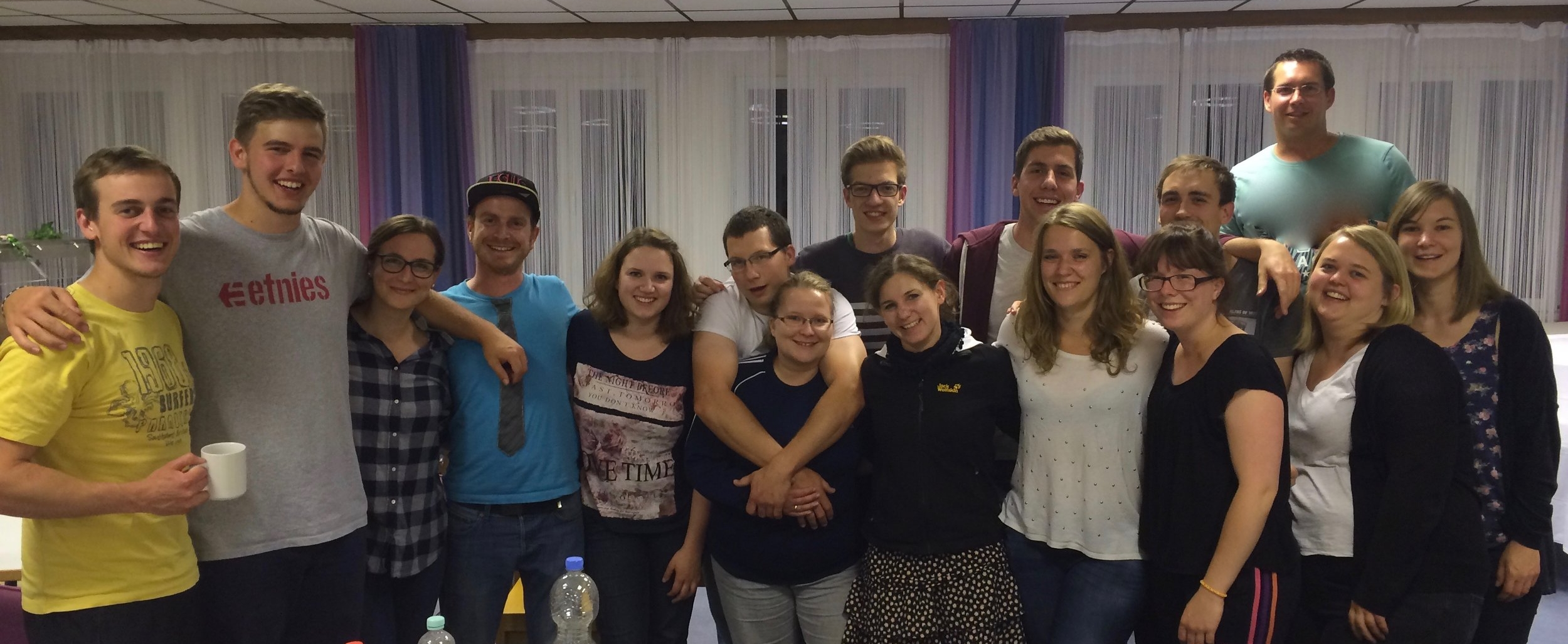 Part of the amazing team of Mittarbeiter that worked to carry out Teenfreitzeit 2016.