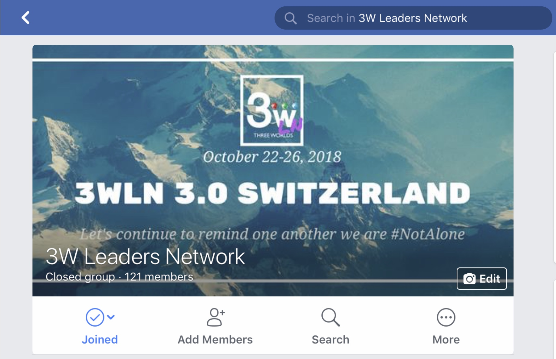 Also, if you have a Facebook Account make sure you join the 3W Leaders Network group.   https://www.facebook.com/groups/924426930958481/